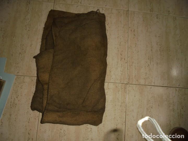 Antigüedades: ANTIGUO SACO DE AZUCAR.AZUCARERA DE LA BAÑEZA.SOCIEDAD AZUCARERA IBERICA.BARCELONA SACO DE 60 KG - Foto 7 - 175546623