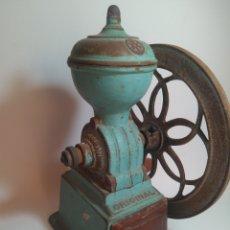 Antigüedades: MOLINILLO DE CAFE JMF HECHO EN ESPAÑA. Lote 148654436