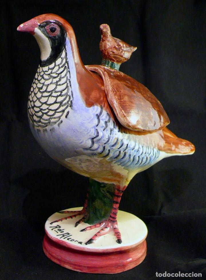 PERDIZ DE ALCORA (Antigüedades - Porcelanas y Cerámicas - Alcora)