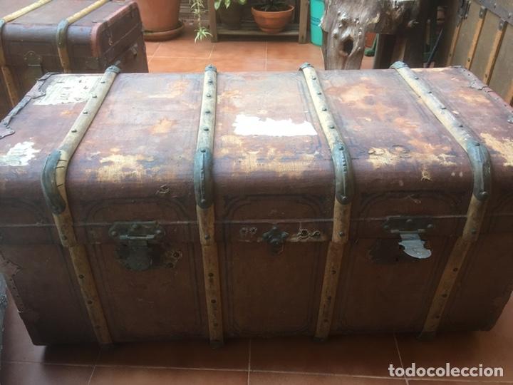 Antigüedades: Baúl - Foto 2 - 148672185