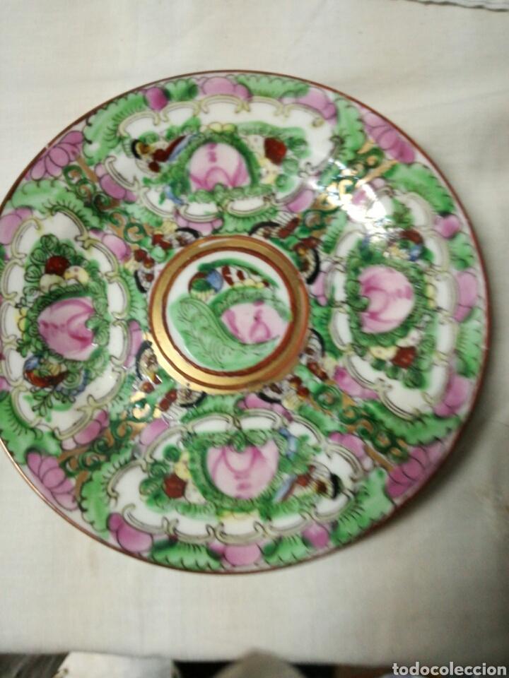 PEQUEÑO PLATO PORCELANA MACAU (Antigüedades - Porcelana y Cerámica - Japón)
