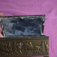 Antigüedades: BONITO COFRE ANTIGUO. Lote 148695934