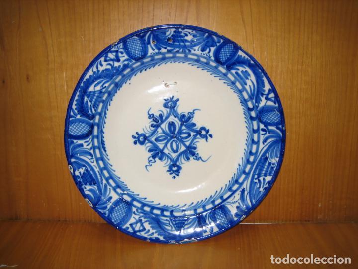 ANTIGUO PLATO DE DECORACION (Antigüedades - Porcelanas y Cerámicas - Otras)