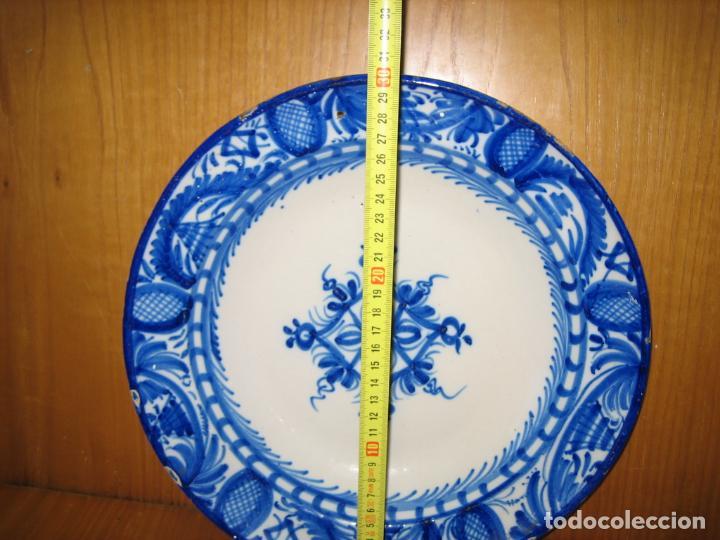 Antigüedades: Antiguo plato de decoracion - Foto 2 - 148698514