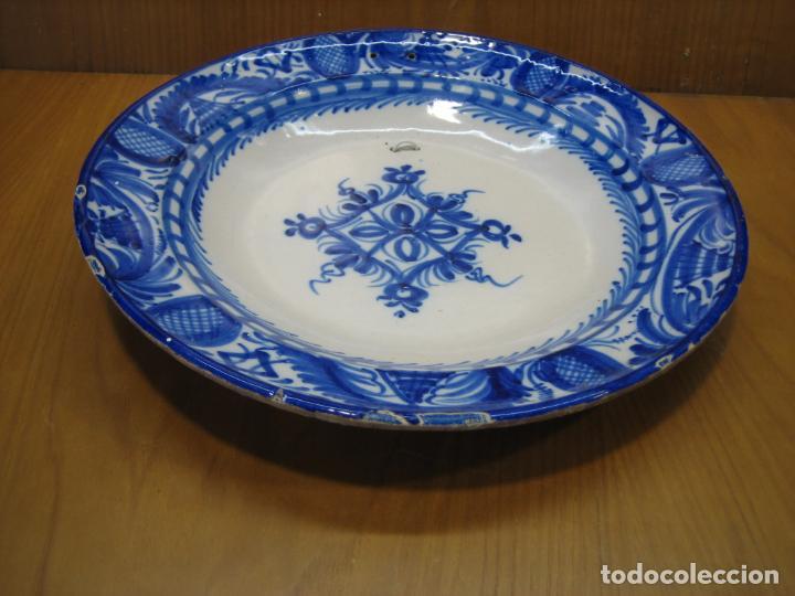 Antigüedades: Antiguo plato de decoracion - Foto 4 - 148698514