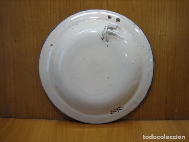 Antigüedades: Antiguo plato de decoracion - Foto 5 - 148698514