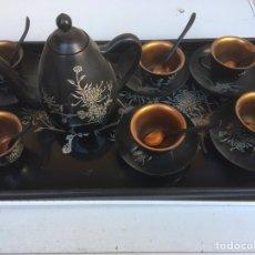 Antigüedades: JUEGO DE CAFÉS LAVADOS. Lote 148702116