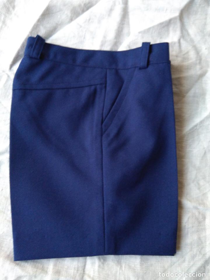 Antigüedades: Par de antiguos pantalones de niño, cortos, tergal, sin uso. Años 1960-70 - Foto 2 - 148707466