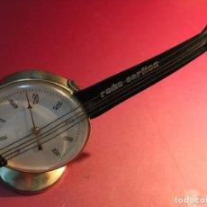 Antigüedades: TERMOMETRO EN FORMA DE GUITARRA PROMOCIONAL RADIO CARLTON. Lote 148718394