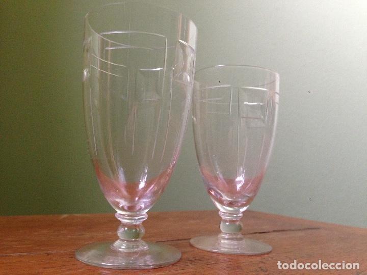 Antigüedades: elegantes copas art decó - Foto 6 - 148829406