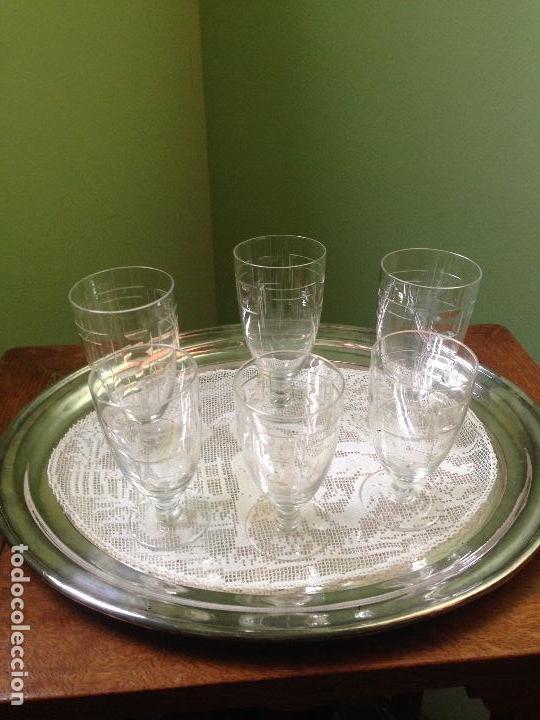 Antigüedades: elegantes copas art decó - Foto 7 - 148829406