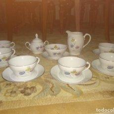 Antigüedades: JUEGO DE CAFÉ ANTIGUO. Lote 148848550