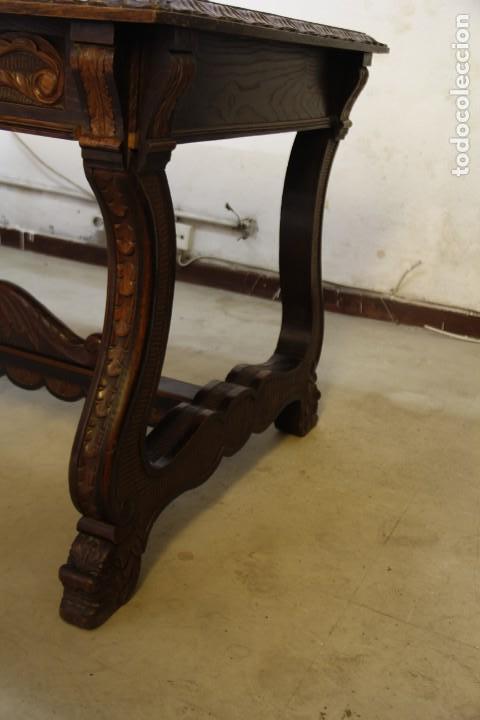 Antigüedades: Expléndida mesa de despacho - Foto 7 - 144453398