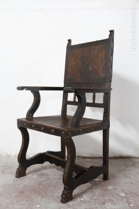 Antigüedades: Expléndida mesa de despacho - Foto 12 - 144453398