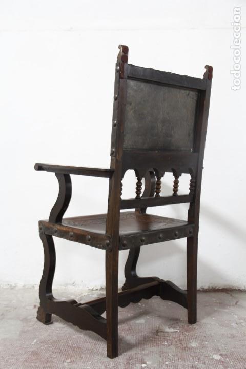 Antigüedades: Expléndida mesa de despacho - Foto 13 - 144453398