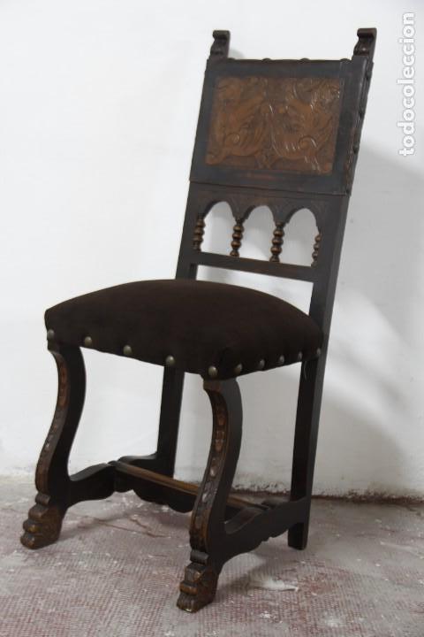 Antigüedades: Expléndida mesa de despacho - Foto 15 - 144453398