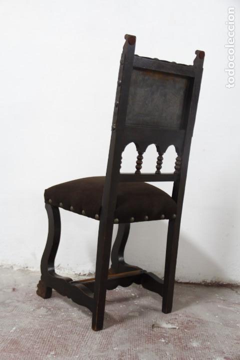Antigüedades: Expléndida mesa de despacho - Foto 16 - 144453398