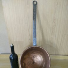 Antigüedades: CAZO DE COBRE. Lote 148910405
