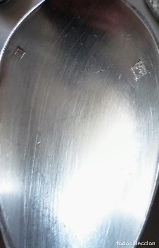 Antigüedades: JUEGO DE 42 CUBIERTOS PLATA VINTAGE - Foto 2 - 148913890
