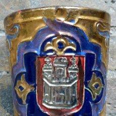 Antigüedades: VASO GRANDE DE DANIEL ZULOAGA DE FINALES DEL XIX O PP DELXX.. Lote 148924254