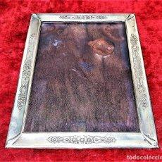 Antigüedades: MARCO PORTAFOTOS. PLATA PUNZONADA. 950/1000. ESPAÑA. CIRCA 1950. Lote 148947722
