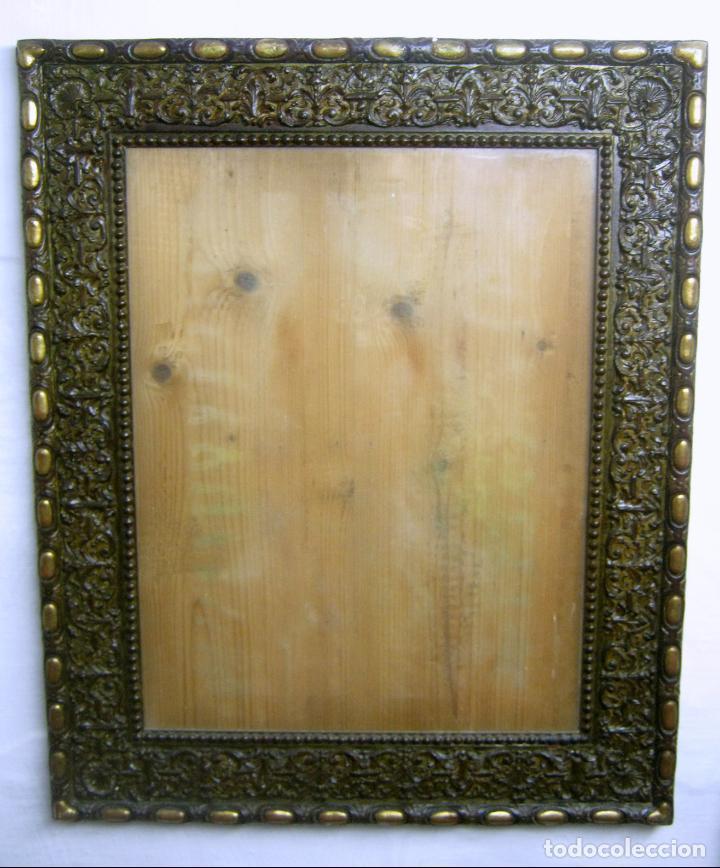 Antigüedades: s.XIX Impresionante marco 85 x 70 cm . Estilo Herreriano - Foto 5 - 148964686