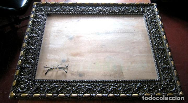Antigüedades: s.XIX Impresionante marco 85 x 70 cm . Estilo Herreriano - Foto 2 - 148964686