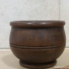 Antigüedades: MORTERO DE MADERA. Lote 148977698