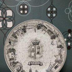 Antigüedades: PLATO LLANO ROYAL CHINA VIGO,. ESCUDO DE BURGOS. Lote 149000890