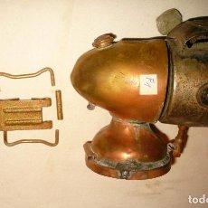 Antigüedades: FAROL DE BICICLETA OBERMETALL (INCOMPLETO). Lote 149005386