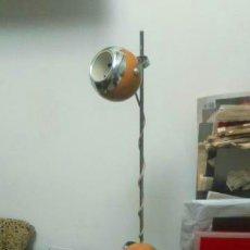 Antigüedades: LAMPARA DE PIE AÑOS 60 SPACE AGE EYEBALL. Lote 149111066