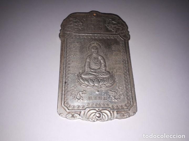 PRECIOSO LINGOTE DE PLATA TIBETANA 146,80 GRAMOS. (Antiquitäten - Silberwaren - Andere Silberwaren)