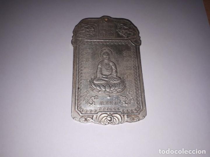 Antiquitäten: Precioso lingote de plata tibetana 146,80 gramos. - Foto 2 - 154232097