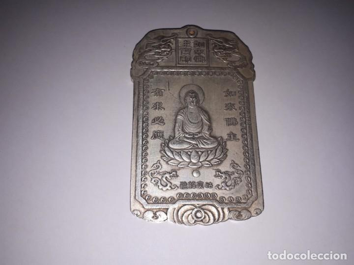 Antiquitäten: Precioso lingote de plata tibetana 146,80 gramos. - Foto 4 - 154232097