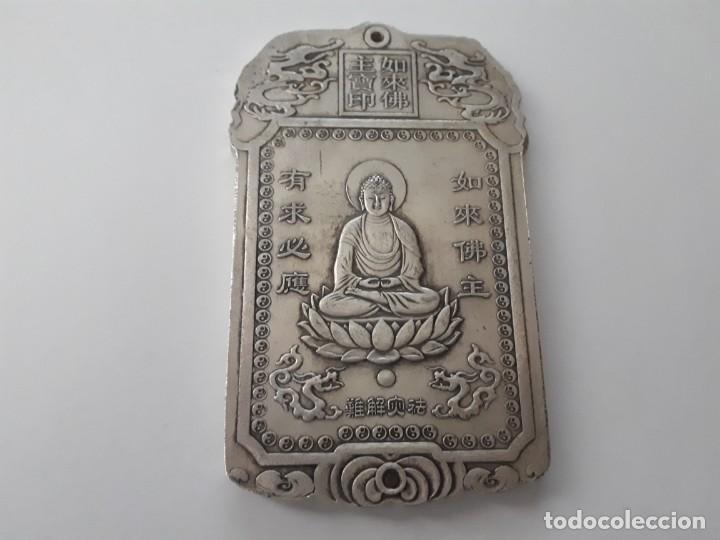Antiquitäten: Precioso lingote de plata tibetana 146,80 gramos. - Foto 5 - 154232097