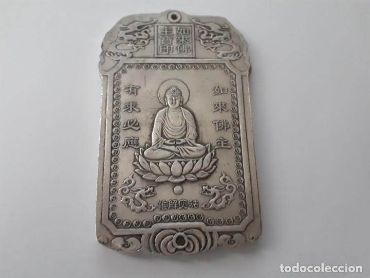 Antiquitäten: Precioso lingote de plata tibetana 146,80 gramos. - Foto 6 - 154232097