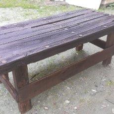 Antigüedades - Antiguas Mesas de madera artesanales - 149206452