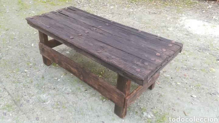 Antigüedades: Antiguas Mesas de madera artesanales - Foto 3 - 149206452