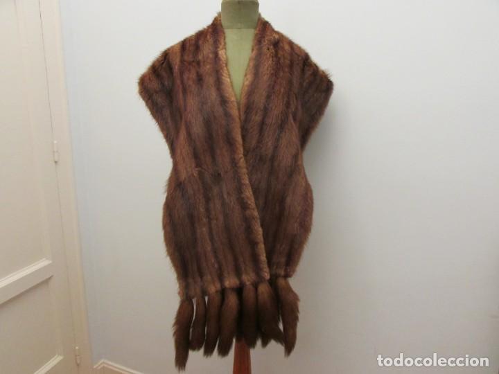 nueva busca lo mejor sitio autorizado Estola en piel de visón color marrón - Sold through Direct ...