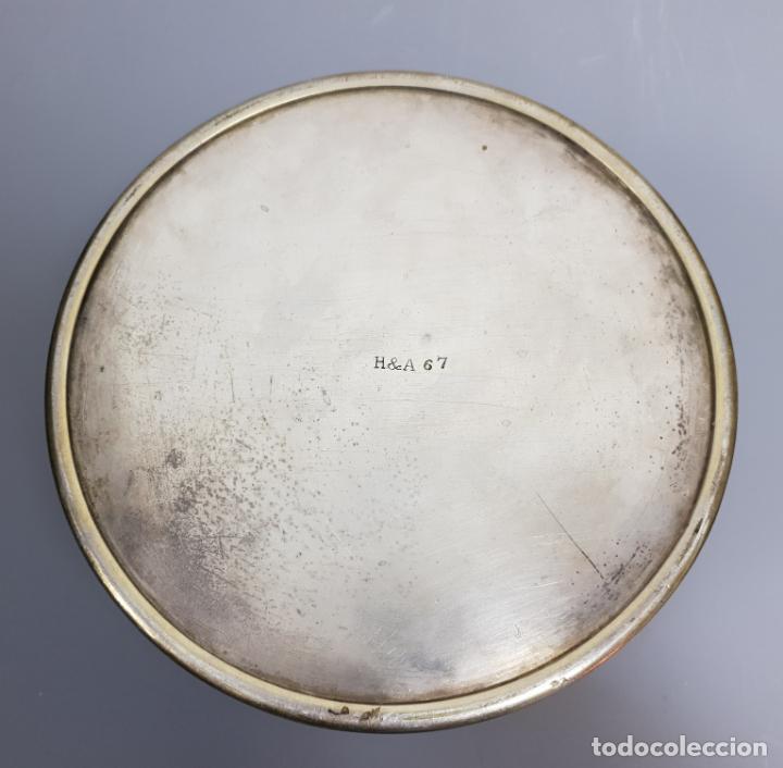 Antigüedades: gran caja banado en plata siglo XIX - Foto 10 - 149217002