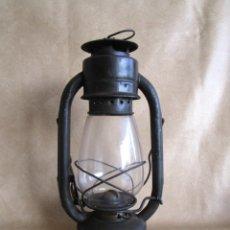 Antigüedades: ANTIGUO FAROL LAMPARA DE ACEITE. Lote 53499180