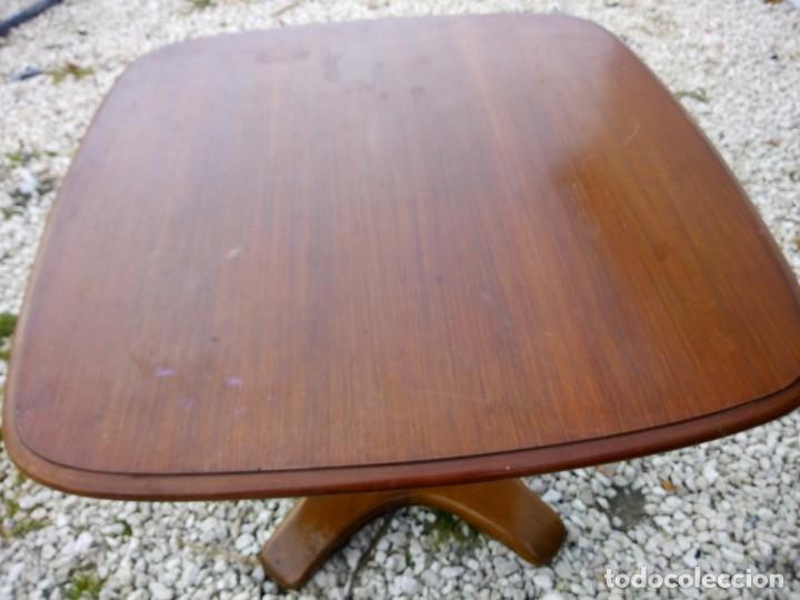 Antigüedades: Bonita mesa de madera de roble pata tallada. - Foto 8 - 149234634