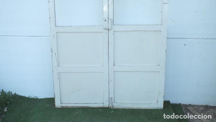Antigüedades: Puerta cristalera antigua - Foto 2 - 145530102