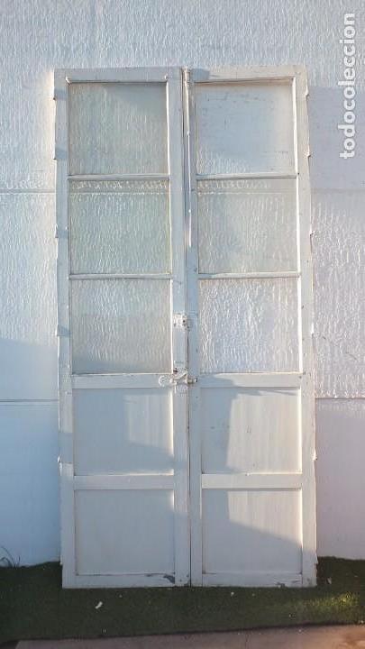 Antigüedades: Puerta cristalera antigua - Foto 2 - 145525638