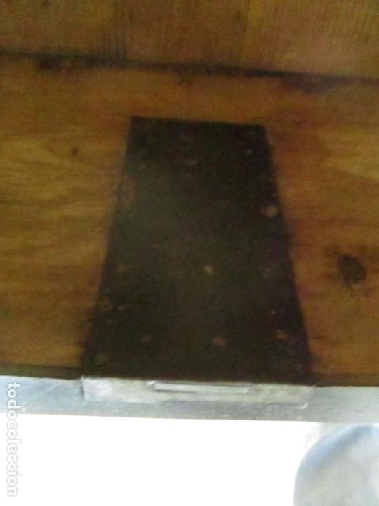 Antigüedades: Secreter Abattant Imperio - Mueble Escritorio - Madera de Caoba - Principios S. XIX - Foto 21 - 149273210