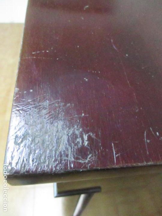 Antigüedades: Secreter Abattant Imperio - Mueble Escritorio - Madera de Caoba - Principios S. XIX - Foto 44 - 149273210