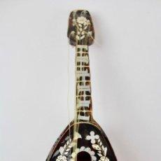 Antigüedades: CAJA DE MUSICA EN PLATA (A RESTAURAR) ,NACAR Y SIMIL CAREY .FINALES DEL SIGLO XIX. Lote 149297898