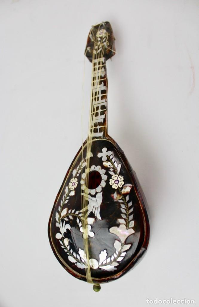 Antigüedades: CAJA DE MUSICA EN PLATA (A RESTAURAR) ,NACAR Y SIMIL CAREY .FINALES DEL SIGLO XIX - Foto 2 - 149297898