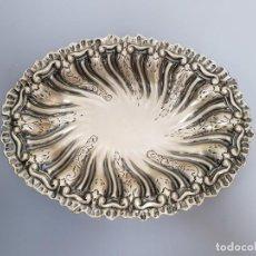 Antigüedades: TAZA EN PLATA LEY MARCADO CON CONTRASTE ITALIANA. Lote 149326474