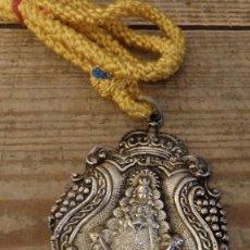 Antigüedades: ANTIQUISIMA MEDALLA DE LA HERMANDAD DEL ROCIO DE SANLUCAR DE BARRAMEDA, MUY RARA. Lote 149365658
